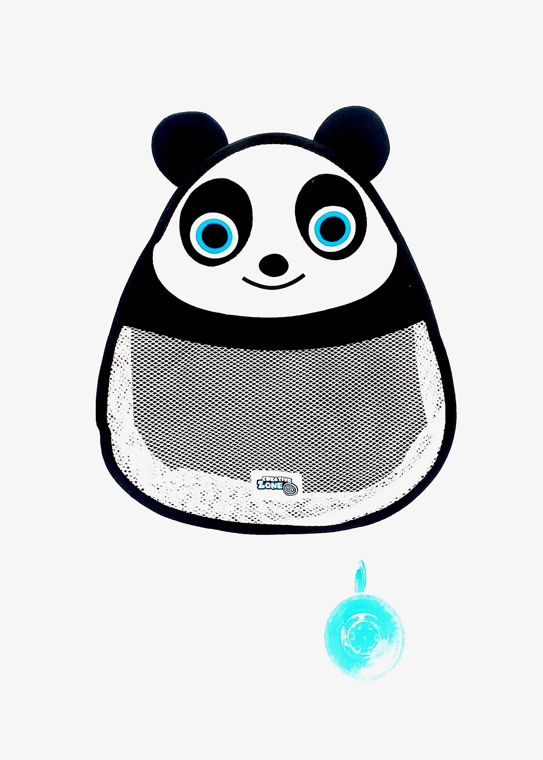 Kid Zone Bath Toy Organizer - Panda