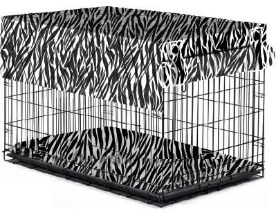 I-Crate Cover Zebra - Medium