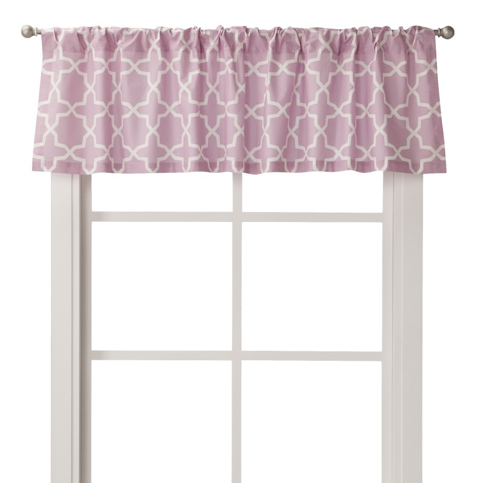 Birds and Flowers Window Valance