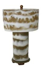 "14"" Mini Lamp - Beige/White"