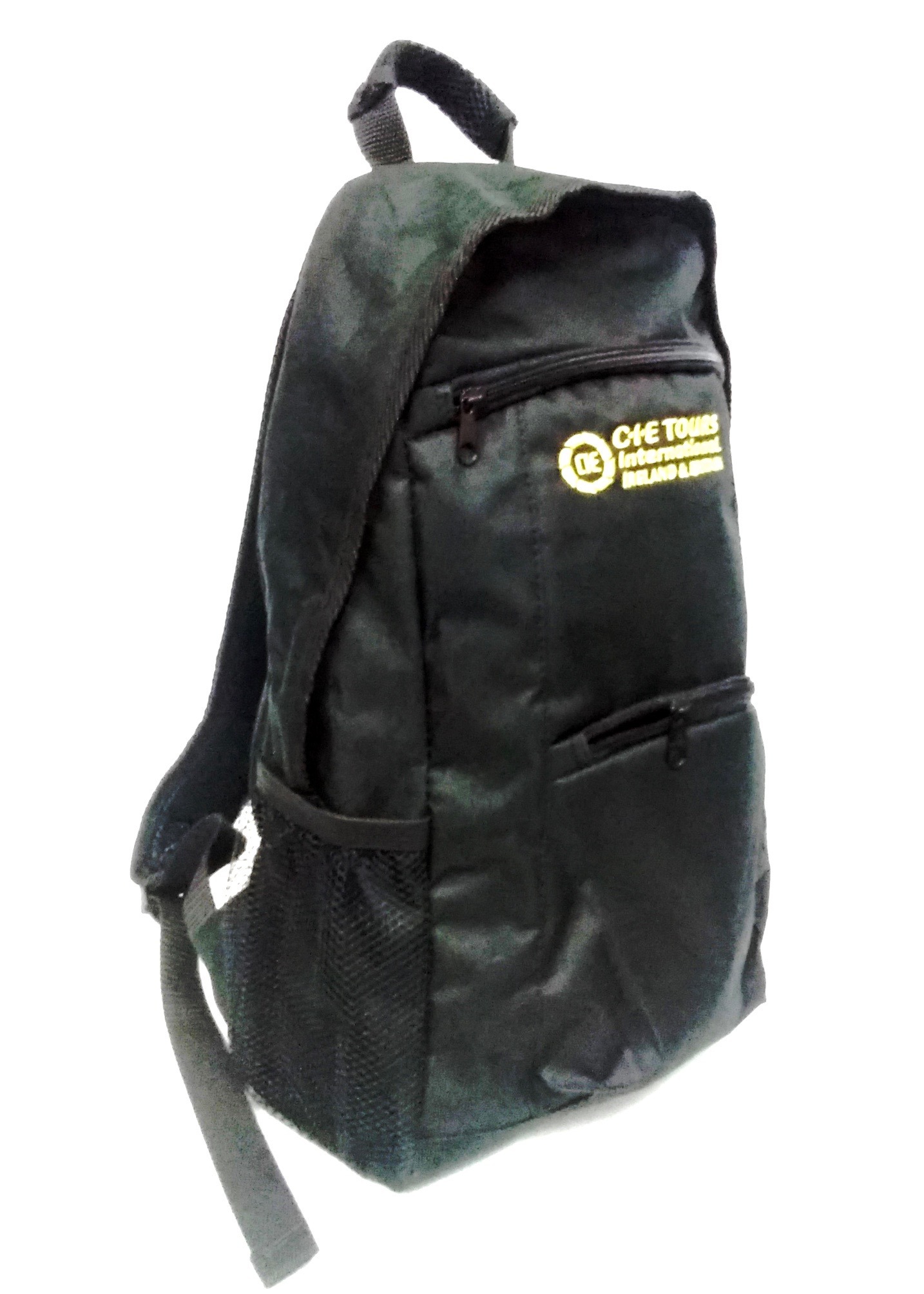 CIE Tours Black Backpack