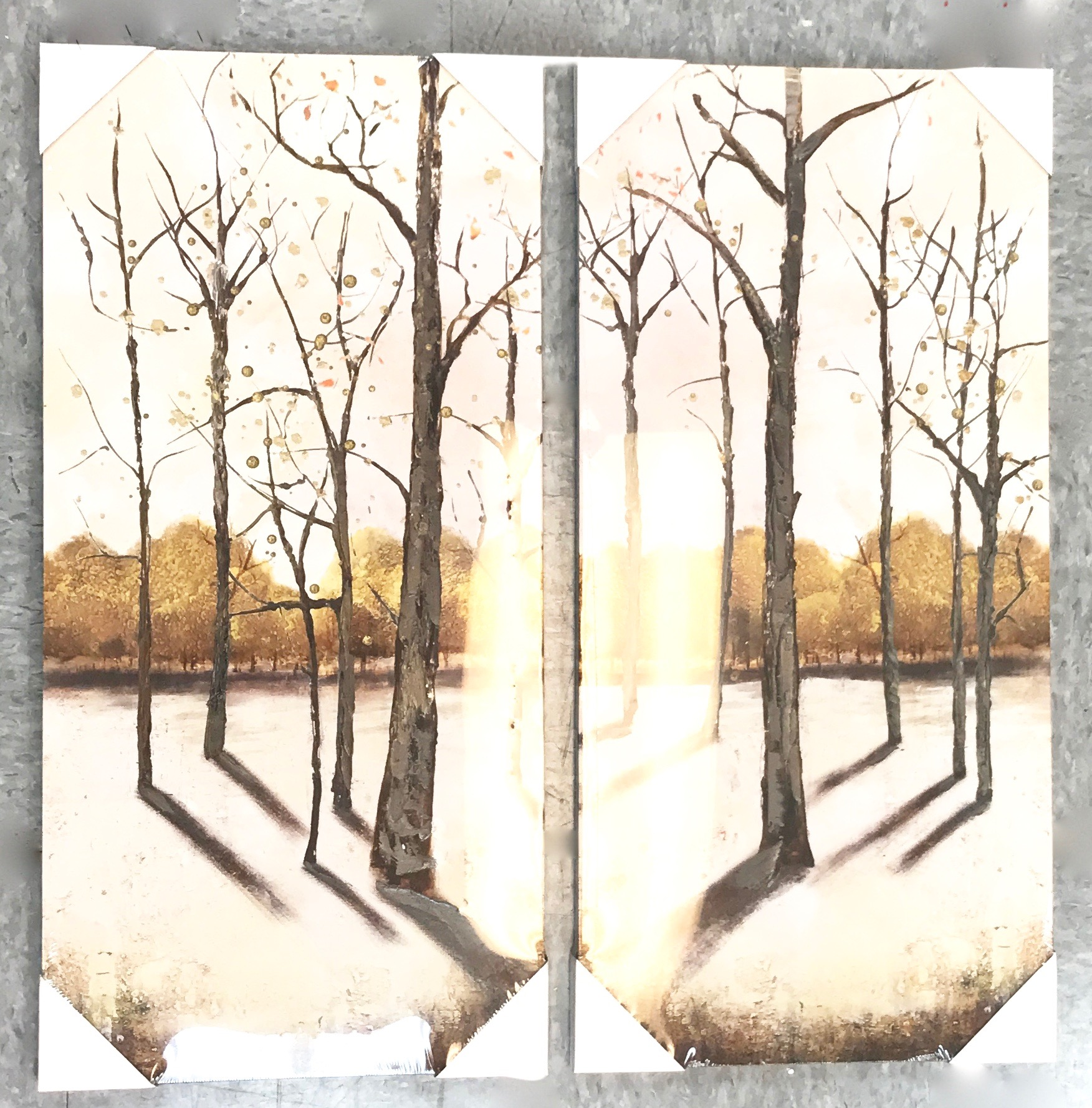 Winter Trees Print Set