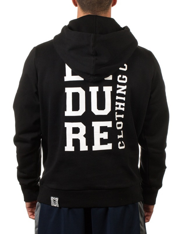 Recovery Hoodie - Black/White