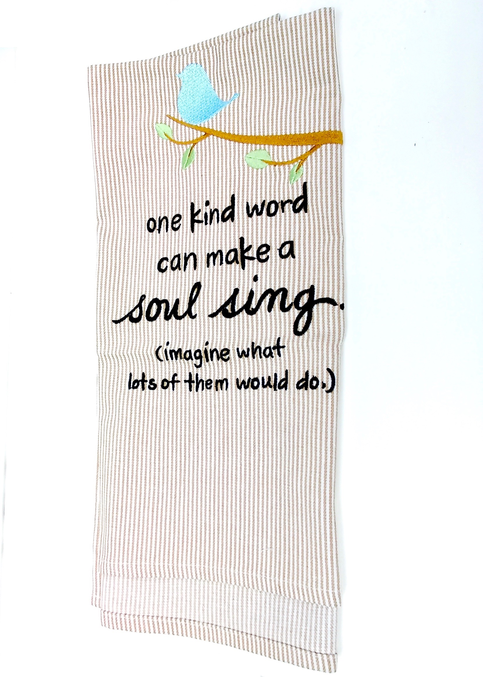 One Kind Word Towel