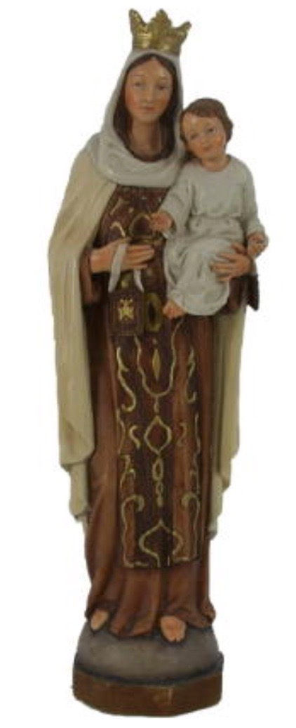 Our Lady of Carmel Figurine 12""