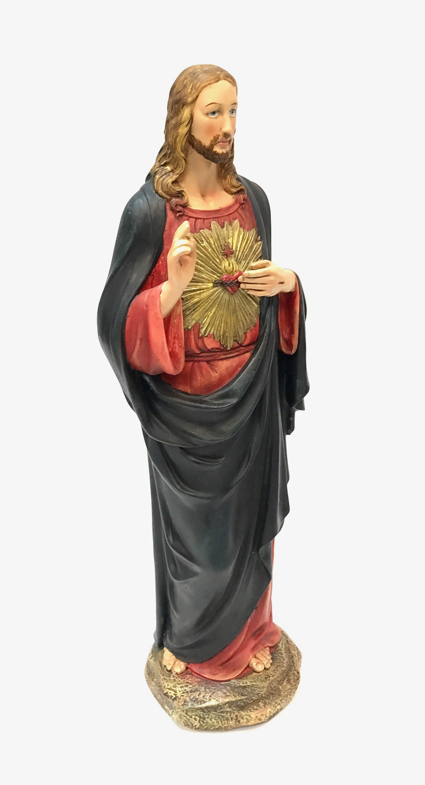 Sacred Heart of Jesus Figurine 16""