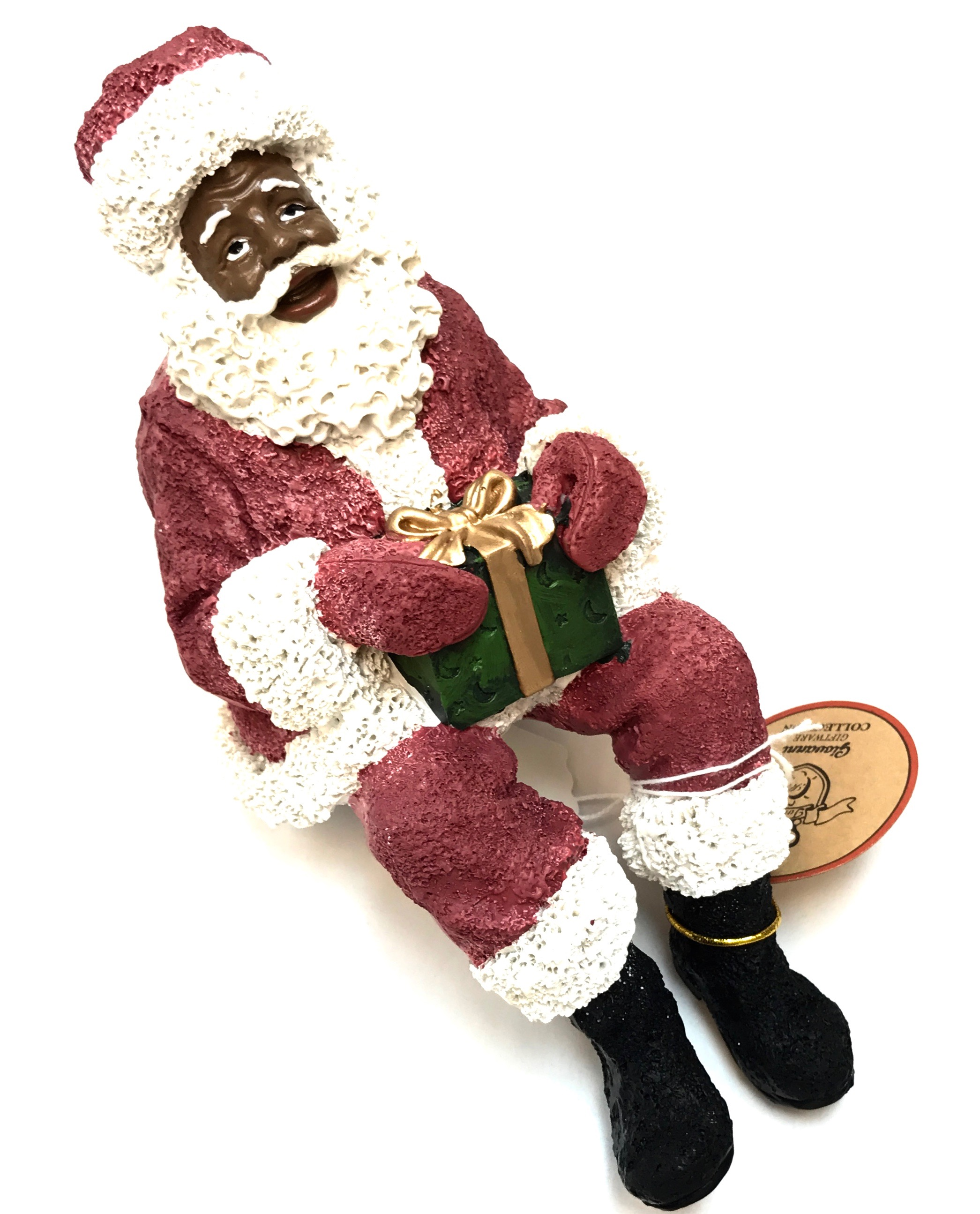 "Ethnic Santa Shelf Sitter 8"" 2/A"