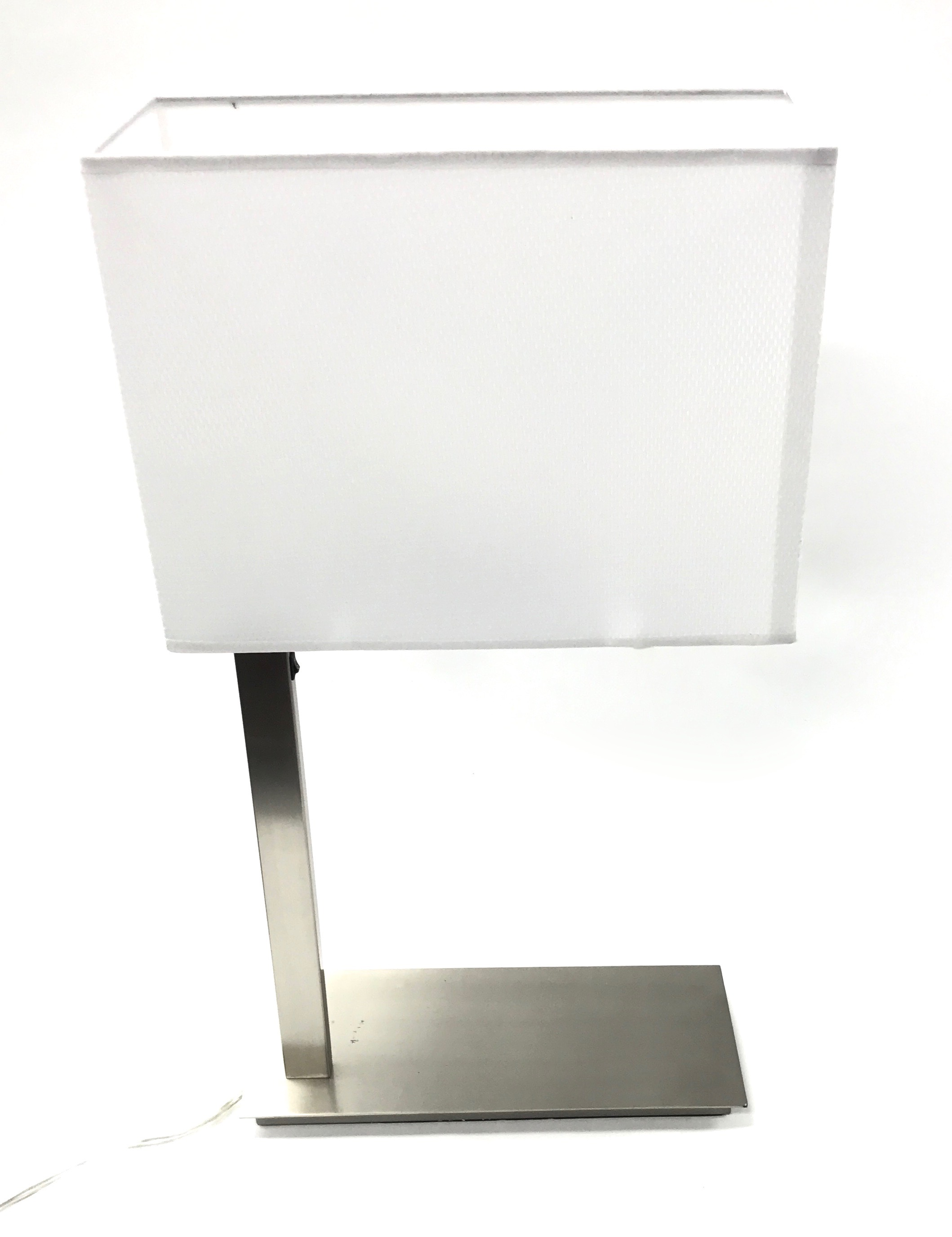 Table Lamp Brushed Aluminum