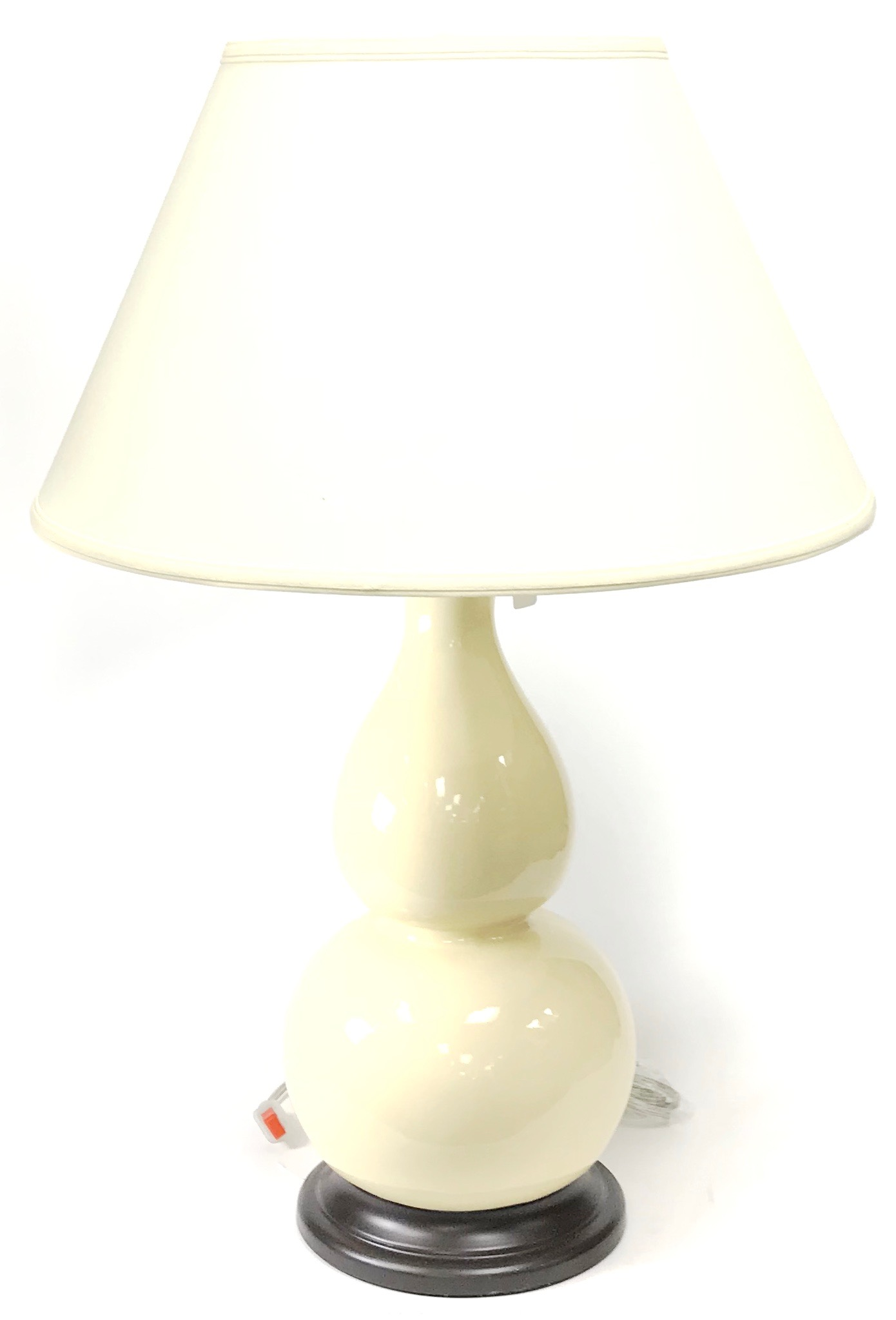 "28"" Table Lamp Ivory"