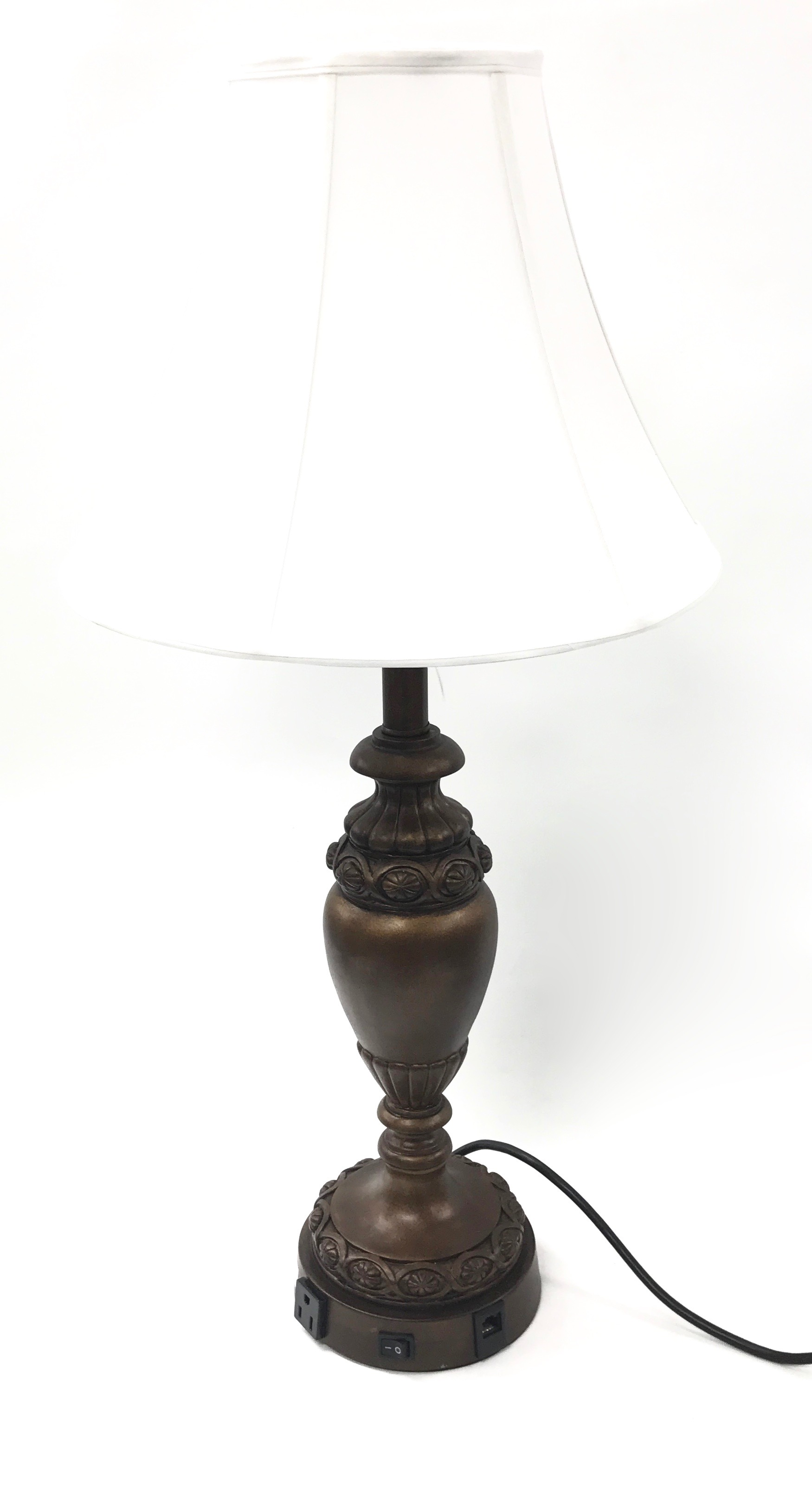 Desk Lamp Poly Aged Bronze