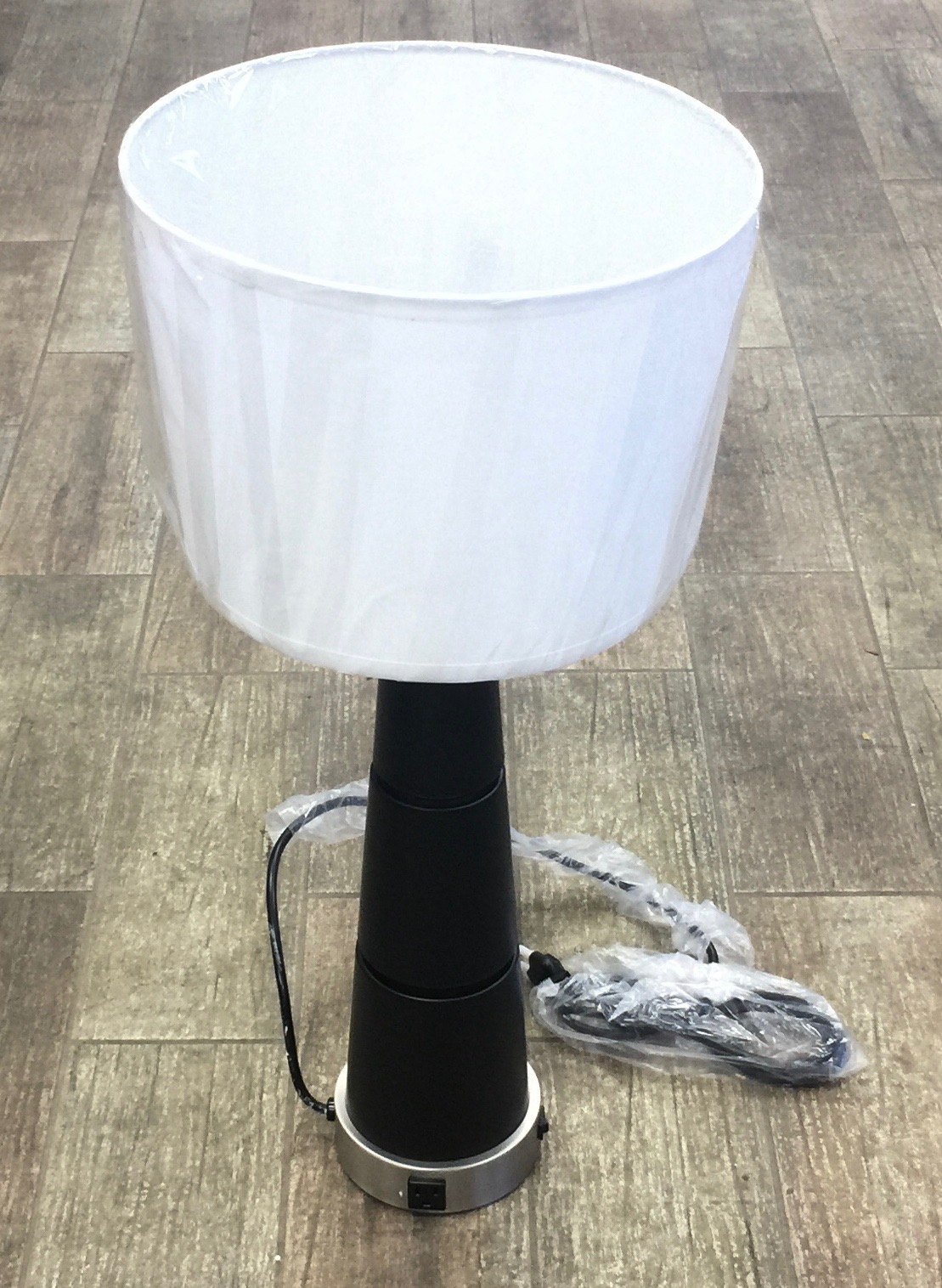 "30"" Brushed Nickel Table Lamp"