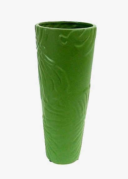 "14"" x 6"" Vase Hunter Green"