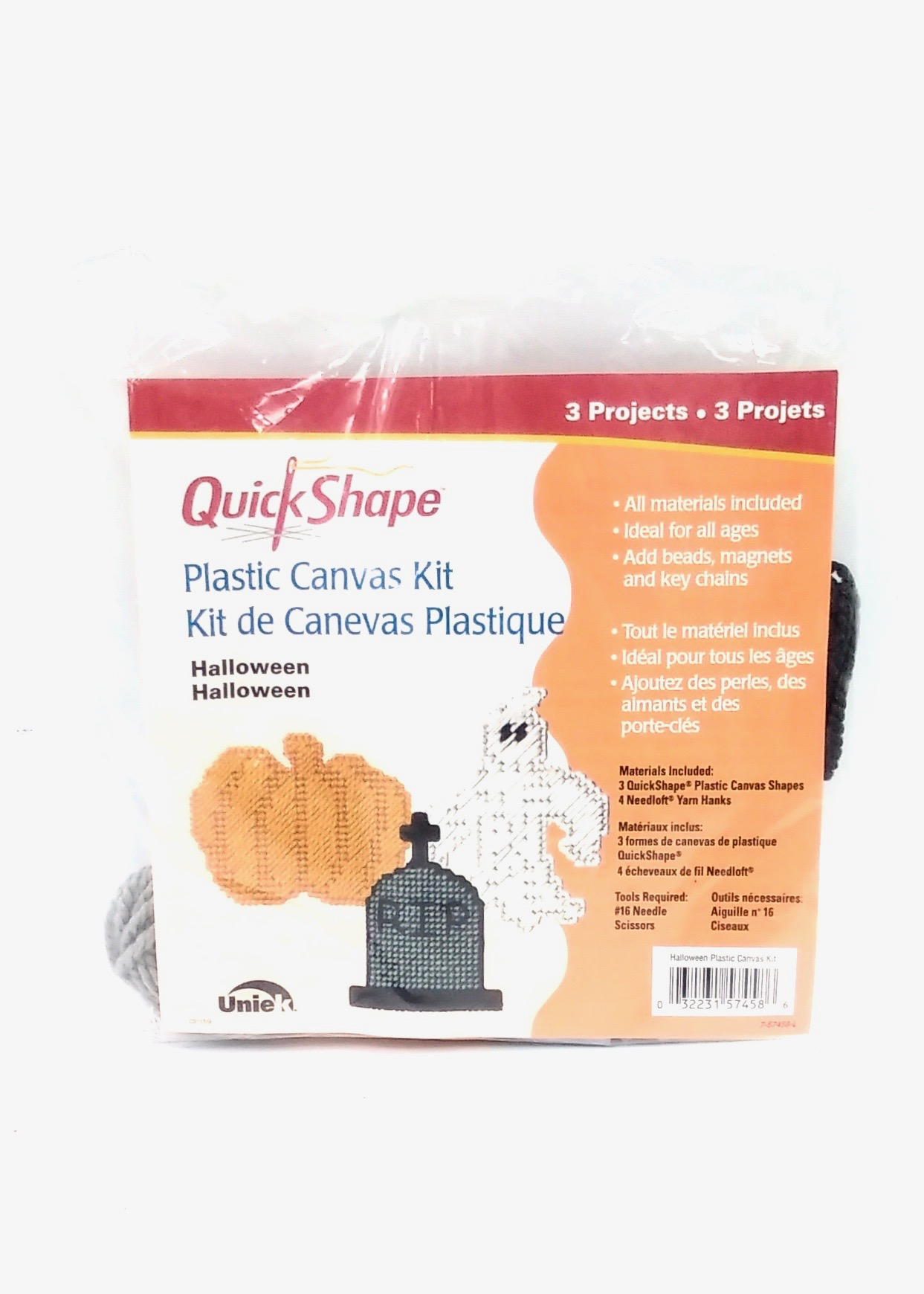 Quickshape Halloween needlepoint kit