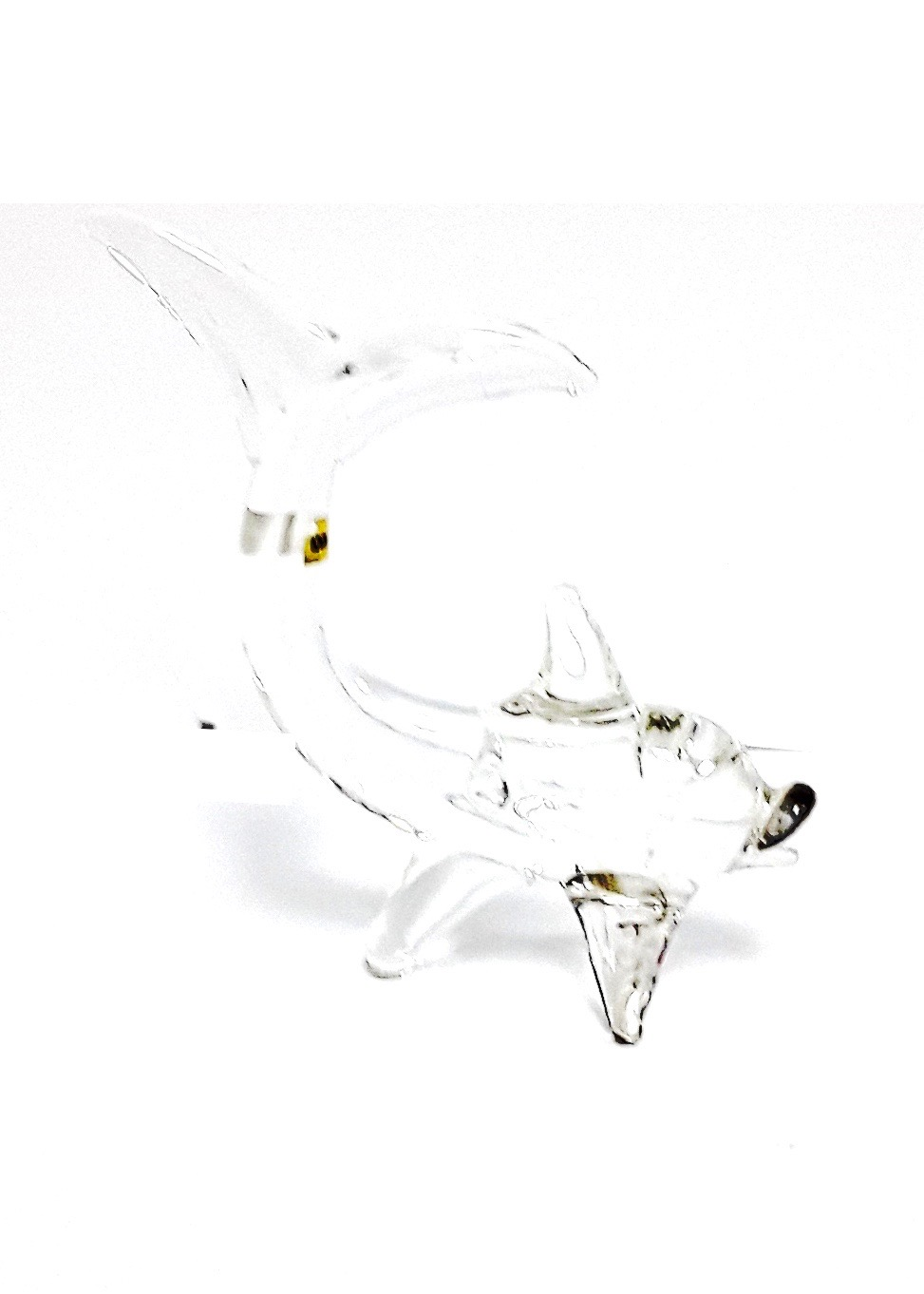 Glass Dolphin Figurine