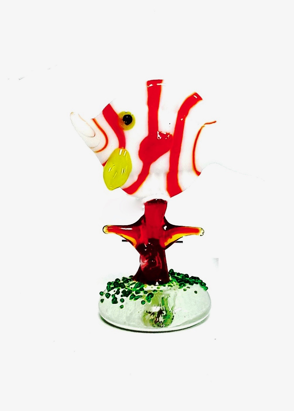 Glass Fish Figurine
