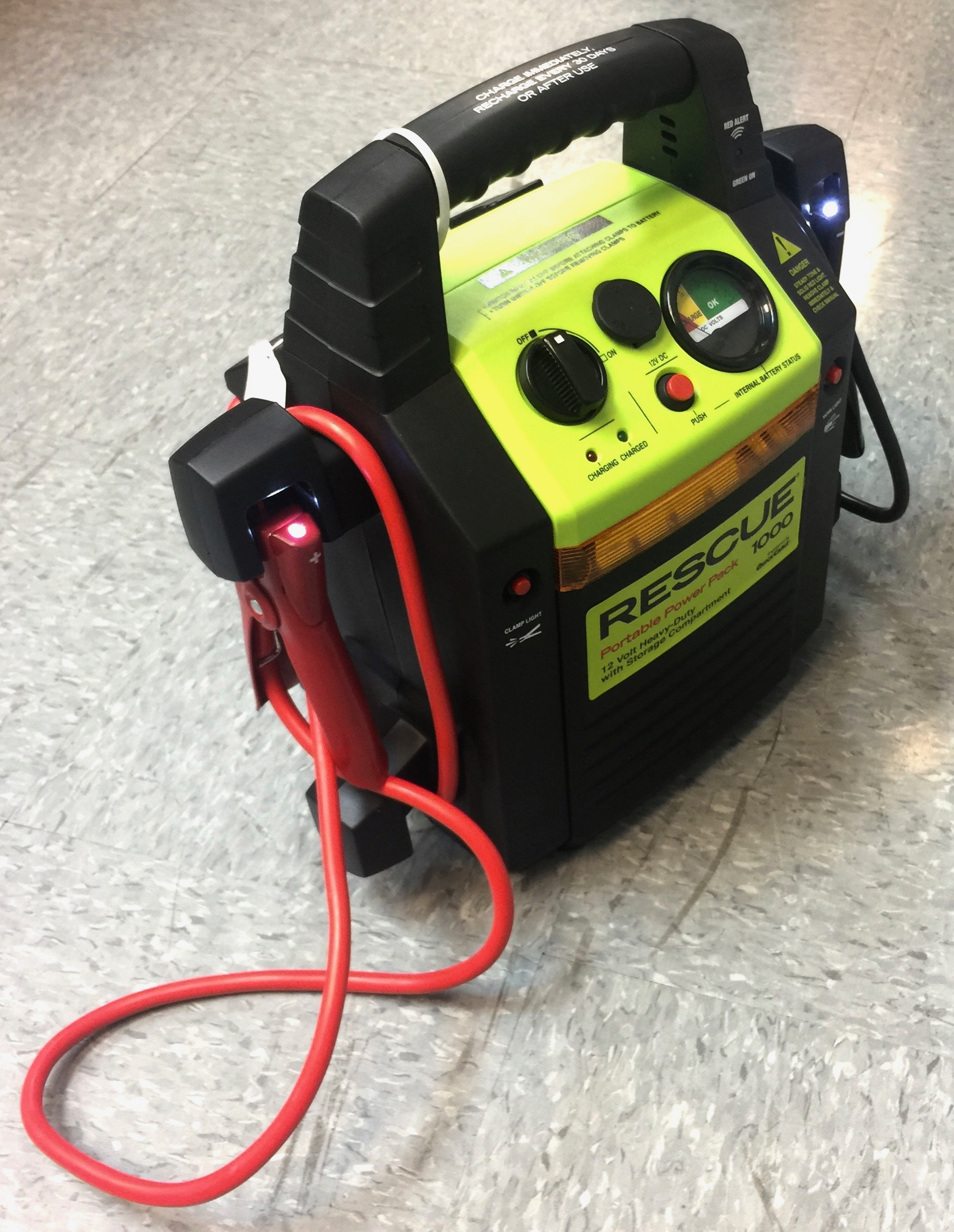 Portable Power Pac 1000 AMP W/Battery