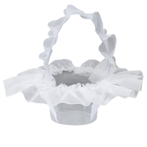 Organza Flower Basket