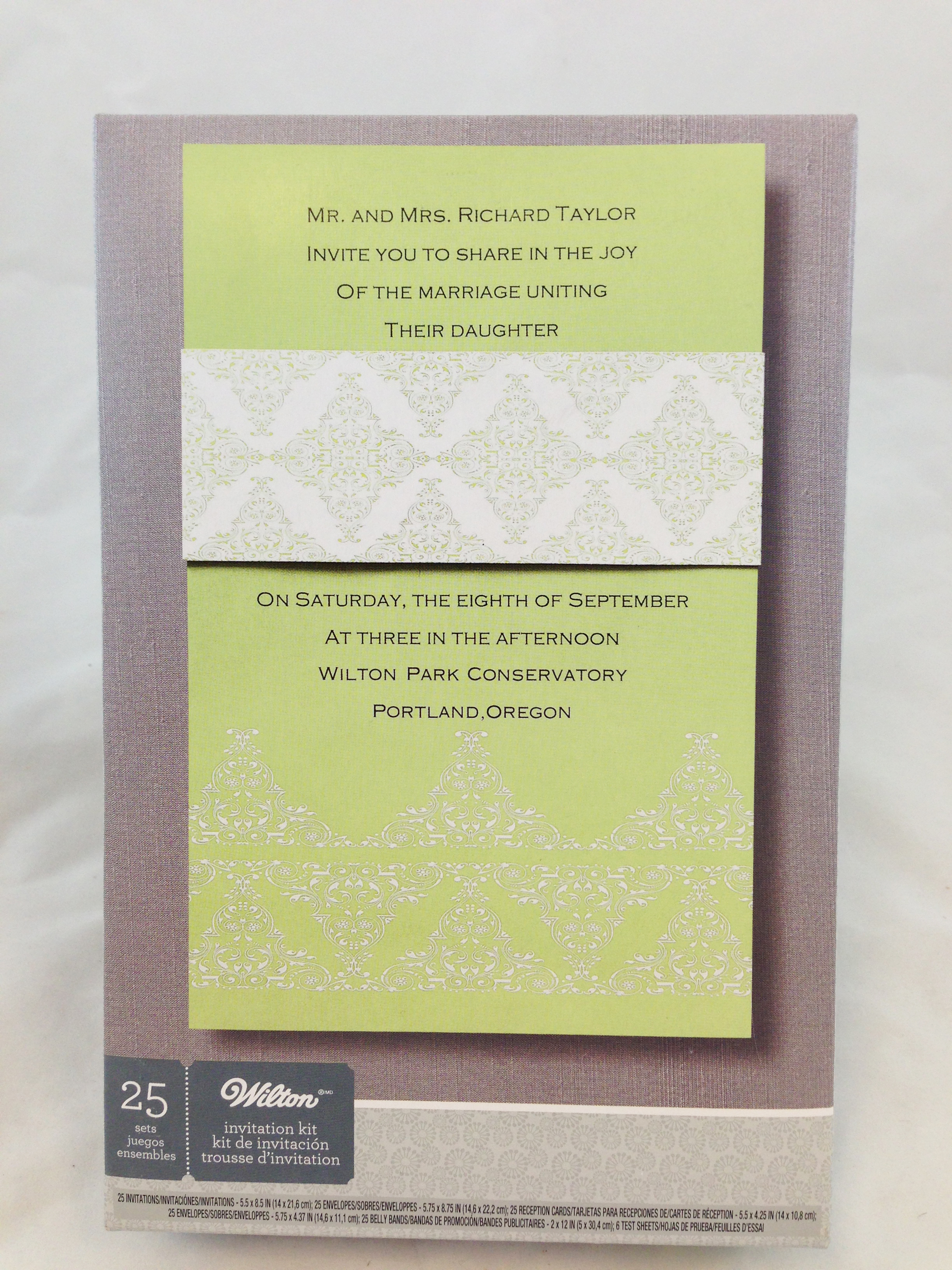 25 Ct Green Diamond Invite