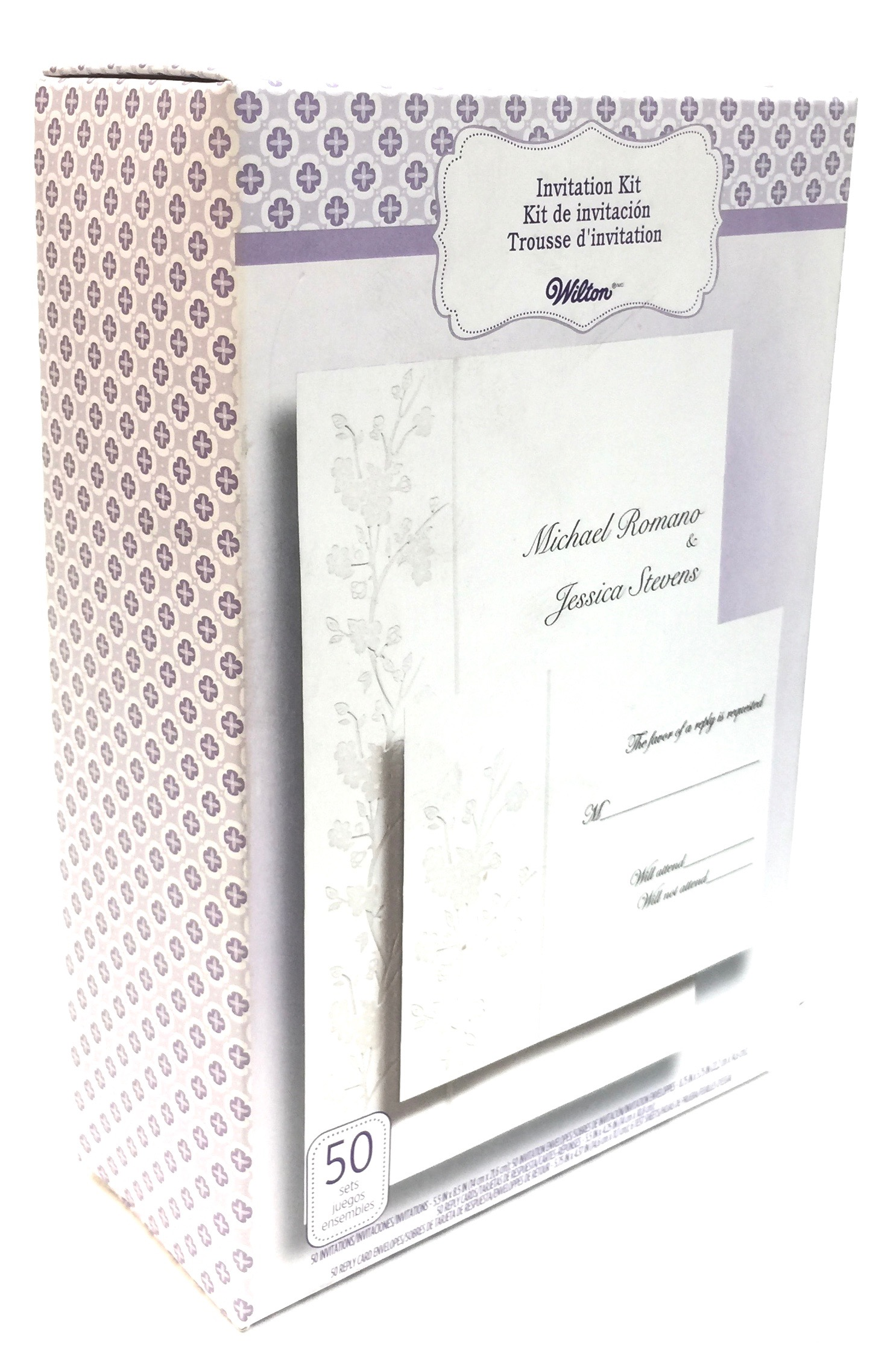 Invitation Kit Cherry Blossom 50 Ct