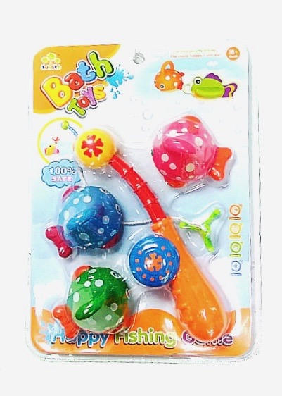 (SL87001) Bath Toy Fishing Game
