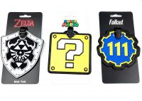 Gaming Luggage Tag Asst
