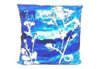 New York Batik Pillow Indigo 20x20