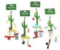 Tender Tiding Cactus Ornaments Set/4