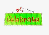 Celebrate Sign