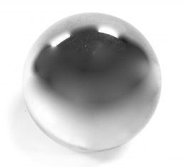 Glass Sphere Silver 8