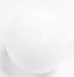 Glass Sphere White 8