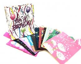 Medium Gift Bag - Birthday Asst