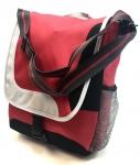 (AP3050) Helio Messenger Bag - Red