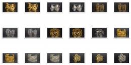 Metal Bracelets & Cuffs Asst