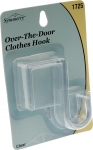 Over The Door Single Hook Clear