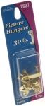 Picture Hanger Brass Pltd 30 Lb