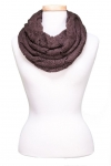 Cableknit Braid Infinity Scarf Asst