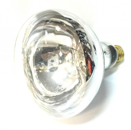 130V Chrome/Clear Bulb