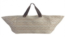 15x16 Recycled Woven Tote - Green