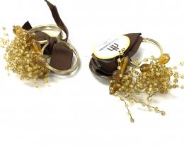 Napkin Ring - Gold Décor