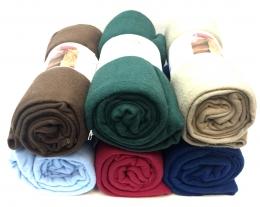 Blanket 150cm X 200cm - Solids Dark Colors