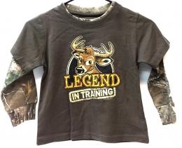 2Fer L/S Tee Legend In Training - Toddler