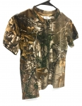 Youth Boys Camo Short Sleeve Tee