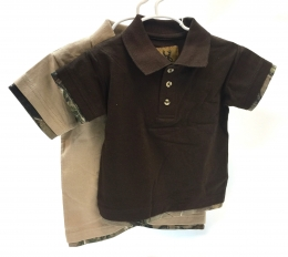 2Fer Polo Shirt Short Sleeve - Toddler