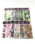Spring Stickers Asst 12 Designs