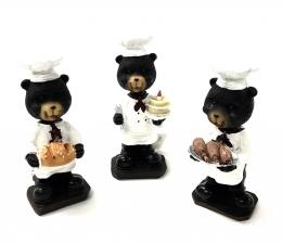Bobble Head Chef Bear 4/A
