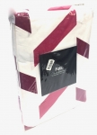 (462172) Herringbone Duvet Cover Pink Twin