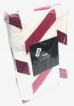(468771) Herringbone Duvet Cover Pink Queen