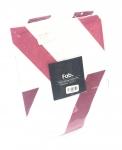 (468772) Herringbone Pillow Sham Pink 20x26