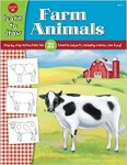 Learn To Draw Farm Animals Book