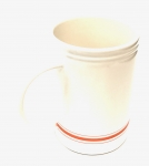 Varsity 16 Oz Ceramic Mug - ORANGE
